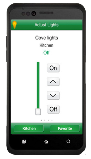Control Lights with Phone