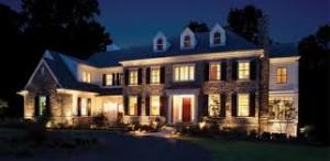 outdoor lighting house