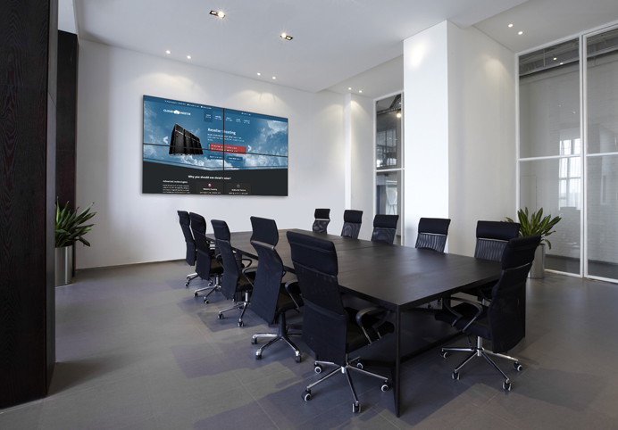 touchscreen in conference room | Moseley Electronics | Central VA ...