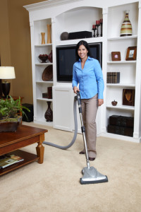 vacuflo woman