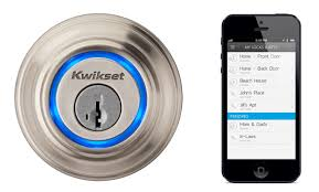 Home Door Lock Automation via Smartphone App