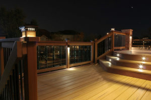 unique outdoor lighting options for decks and patios moseley