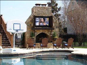 Is Your Favorite Spot On Deck Alongside Pool In Yard Or Around The Fire Pit Why Not Move Television Watching Experience Outside